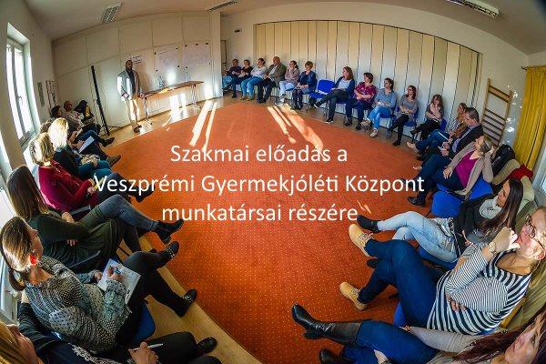 2018. december 5.-én a Veszprémi Gyermekjóléti Központ meghívására Szaniszló Csaba, az Apák az Igazságért Egyesület elnöke tartott szakmai előadást.