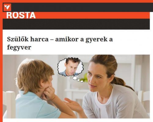 Szülők harca – amikor a gyerek a fegyver - válasz.hu riport